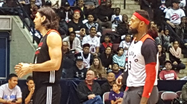 James Johnson & Luis Scola