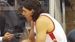 Luis Scola interview sitting