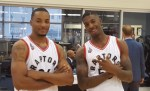 NBA Toronto Raptors Norman Powell & Delon Wright