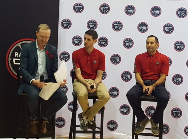 Raptors 905 Garth Wheeler & Dan Tolzman & Jesse Mermuys