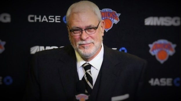 NBA New York Knicks Phil Jackson