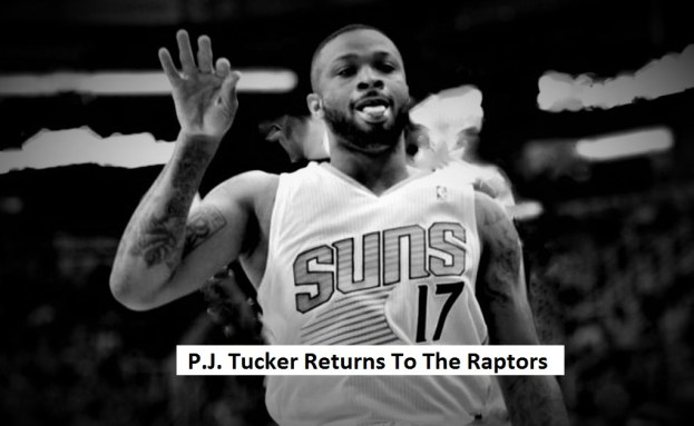 NBA Toronto Raptors P.J. Tucker