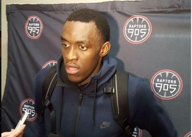 NBA D-League Mississauga Raptors 905 Pascal Siakam