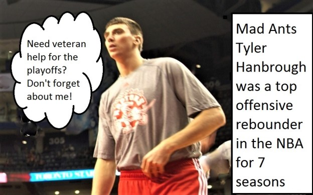 NBA D-League Mad Ants Tyler Hansbrough