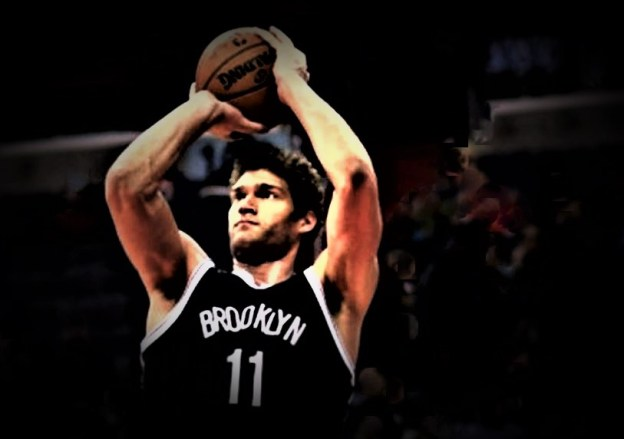 NBA Nets Brook Lopez