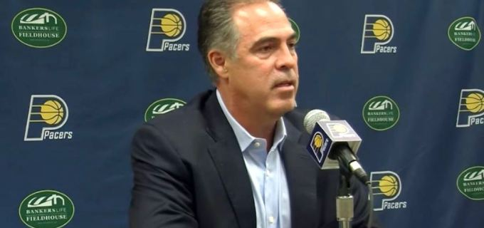 NBA Indiana Pacers GM Kevin Pritchard