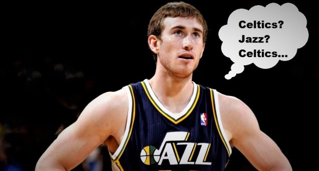 NBA Boston Celtics Gordon Hayward