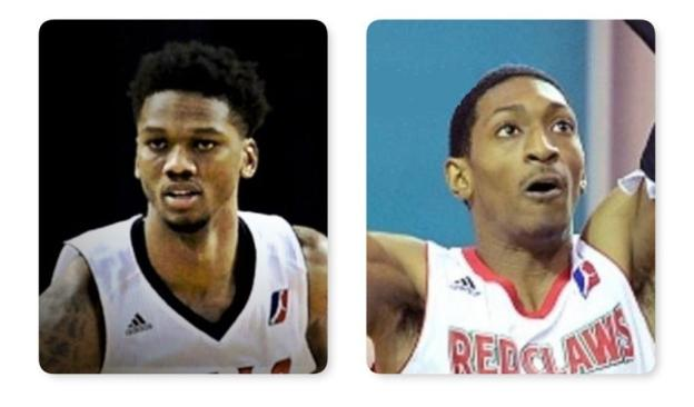 NBA Toronto Raptors Malcolm Miller and Alfonzo McKinnie