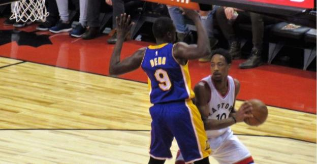 NBA L.A. Lakers Luol Deng