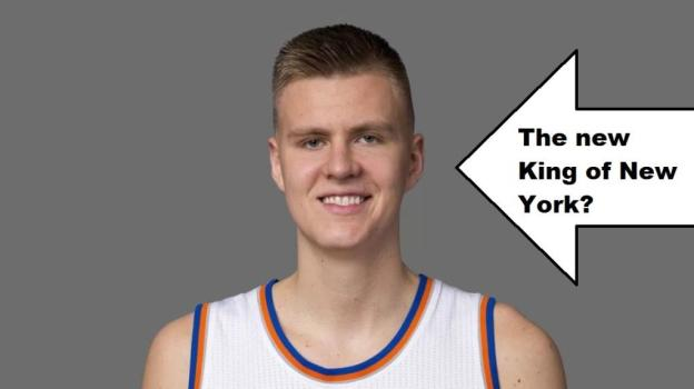 NBA New York Knicks Kristaps Porzingis