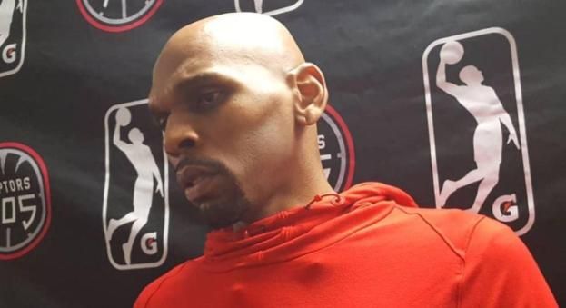 NBA Toronto Raptors assistant coach Jerry Stackhouse