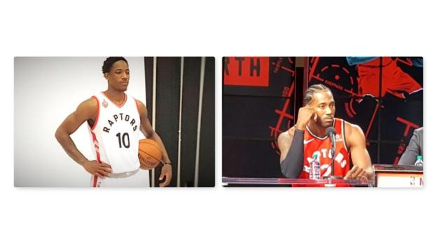 NBA Spurs DeMar DeRozan vs Raptors Kawhi Leonard