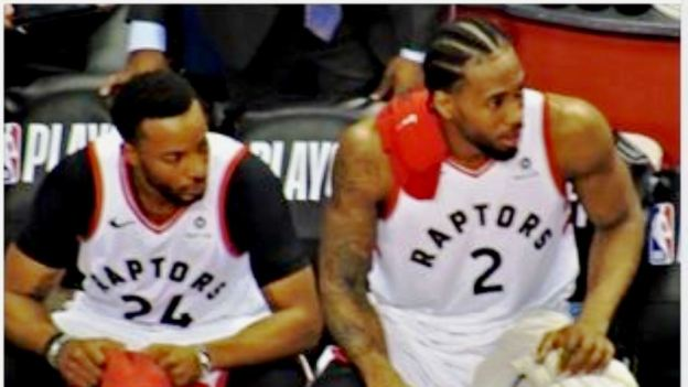 NBA Toronto Raptors Norman Powell and Kawhi Leonard