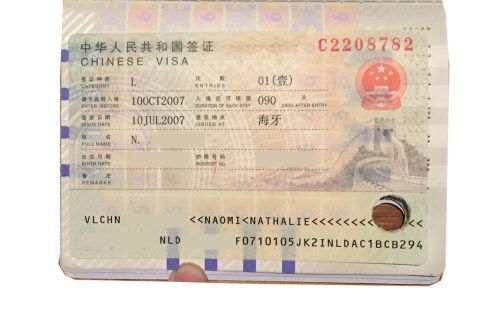 Chinese Visa to travel the Trans-Mongolian Railway