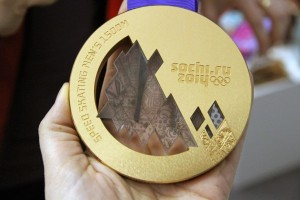 Bronze medal from the Sochi 2014 Winter Olympics