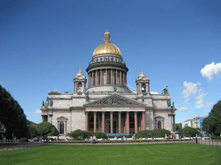 Isaac's Cathedral, One of the things you must do when you have one day in St. Petersburg