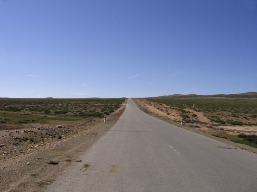 empty roads, isolation is one of the Things to experience in Mongolia