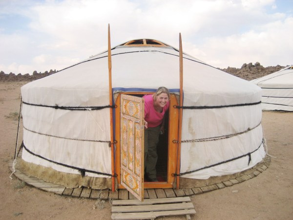 Staying in a ger tent is on of the top things to do in Mongolia in 2 weeks