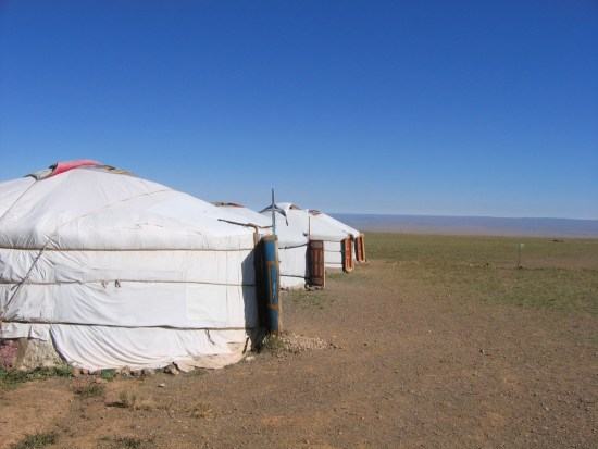staying at a ger camp is one of the things to experience in Mongolia
