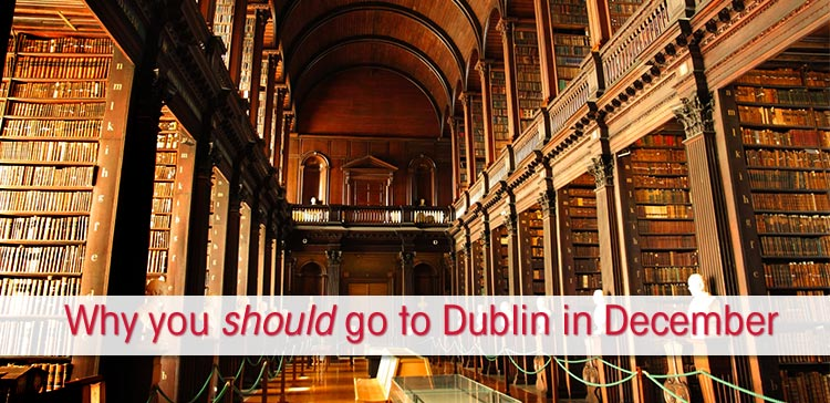 Dublin is a great winter destination for your Christmas trip. Forget about the Christmas market but read my 5 reasons why you should go to Dublin in December.