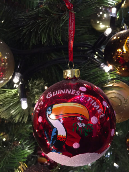 Dublin is a great winter destination for your Christmas trip. Forget about the Christmas market but read my 5 reasons why you should go to Dublin in December and go Christmas Shopping for Guinness Christmas baubles