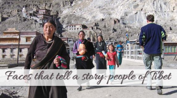 Faces that tell a story: People of Tibet