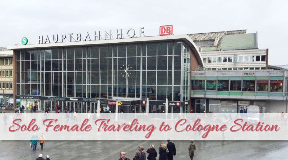 As a solo female traveling to Cologne, you wonder: is it safe? I recently traveled by train to Cologne and I tell you what my experiences are.