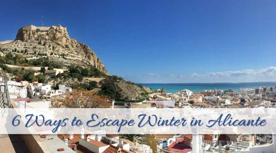 Are you sick of winter? Cold weather and grey skies? Are you looking to escape winter and head out to some place sunny? I didn't want to travel too far and didn't have time to escape winter for a couple of months. So I choose Alicante for a short weekend get-a-way to soak up some sun. I travelled to Alicante, Spain for a short weekend and I'll show you 6 ways how you can escape winter too!