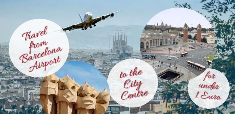 Traveling from the airport into the city centre can be expensive. Do you want to travel from Barcelona Airport to the city centre for under 1 Euro? Read how I've done it and how you can do it too!!
