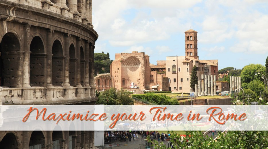 Your time in Rome can feel rushed and overwhelming. To maximize your time in Rome, I came up with a strategy to explore the sights in Rome.
