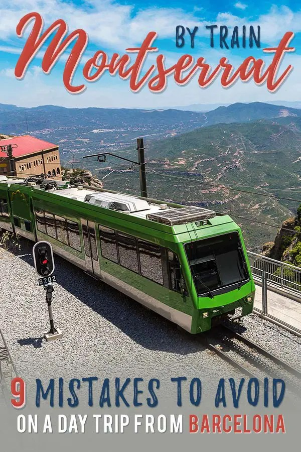 A day trip from Barcelona (Spain) to Montserrat by train is a great way to get out of the city. Although an easy trip, things can go wrong. Be prepared and learn from my 9 mistakes.