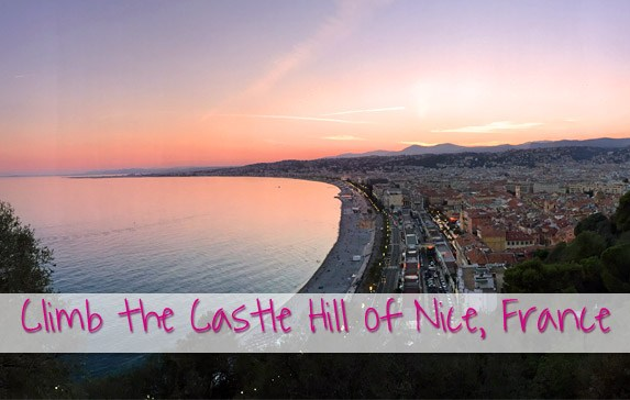 Climb the Castle Hill of Nice – Sweeping views across the Côte d'Azur