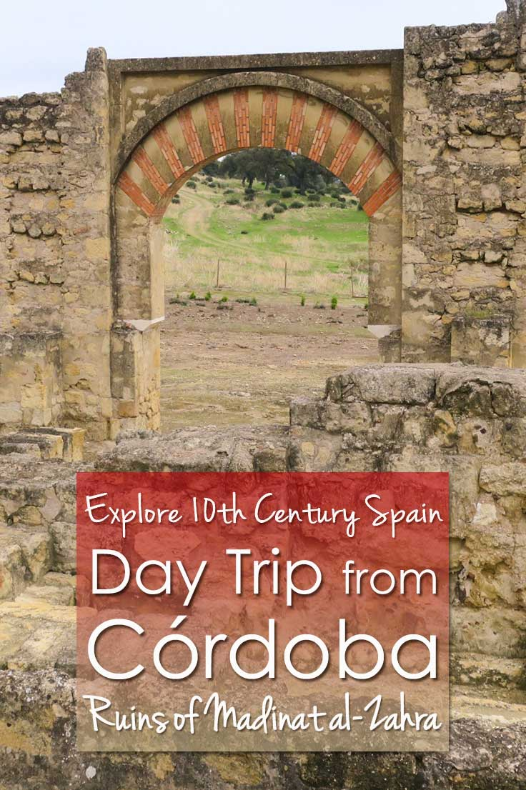 If you travel to Cordoba Spain, consider a day trip from Cordoba to the ruins of Madinat al-Zahra. Explore the ancient 10th century Arab city and museum.
