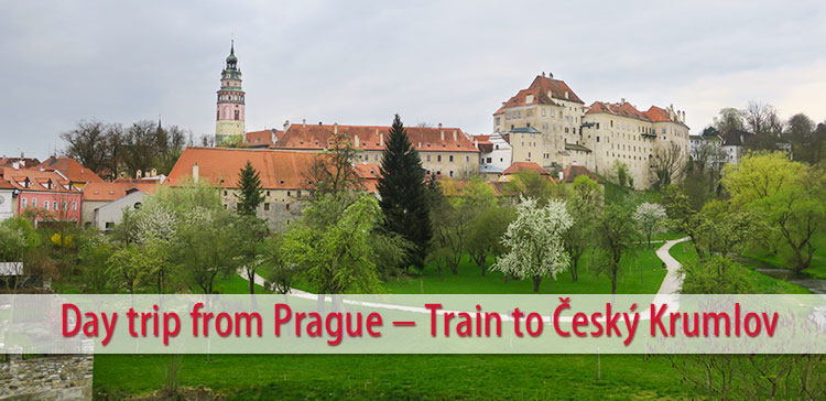 A day trip from Prague by train to Český Krumlov is a great way to see more of the Czech Republic. Read how to get to Český Krumlov by train from Prague.