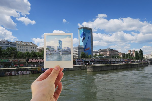 I joined the Vienna Urban Polaroid Photo Tour to discover the fun vibrant urban side of Austria's capital Vienna with a Polaroid photo camera!