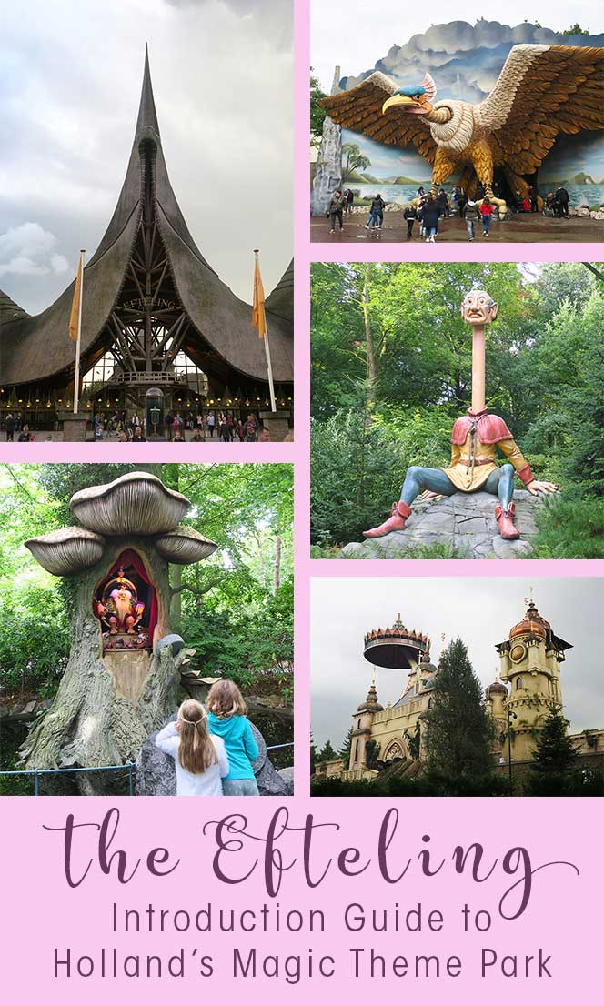 The Efteling Theme Park is the perfect family day trip in the Netherlands. Read my introduction guide on the most enchanted European amusement park the #Efteling