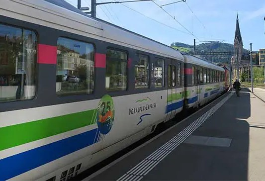 Switzerland's Pre-Alpine Express: Scenic Train from Lucerne to St. Gallen