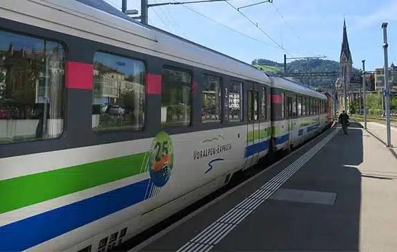 Switzerland's Pre-Alpine Express: Scenic Train from Luzern to St. Gallen