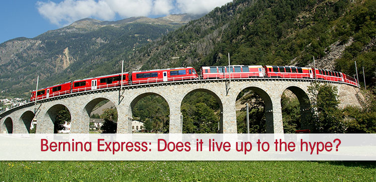 Waiting On Bench For Train To St Moritz >> Is The Bernina Express A Tourist Trap Or Living Up To The Hype