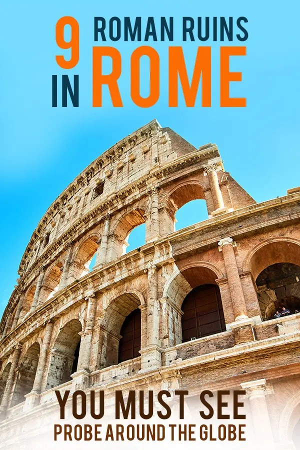 Rome is full of Roman history. But which Roman ruins in Rome are worth it and shouldn't be missed? Check my 9 personal favorites with quick tips to explore.