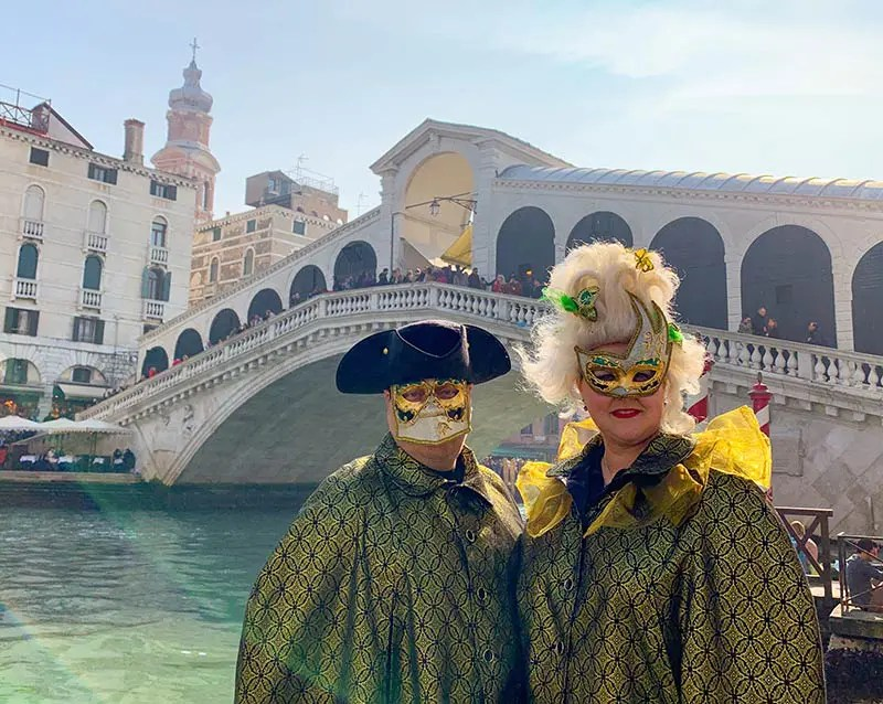Personal travel stories by Naomi from Probe around the Globe Travel Blog. My adventures in Venice at Carnival and preparations for a long distance hike