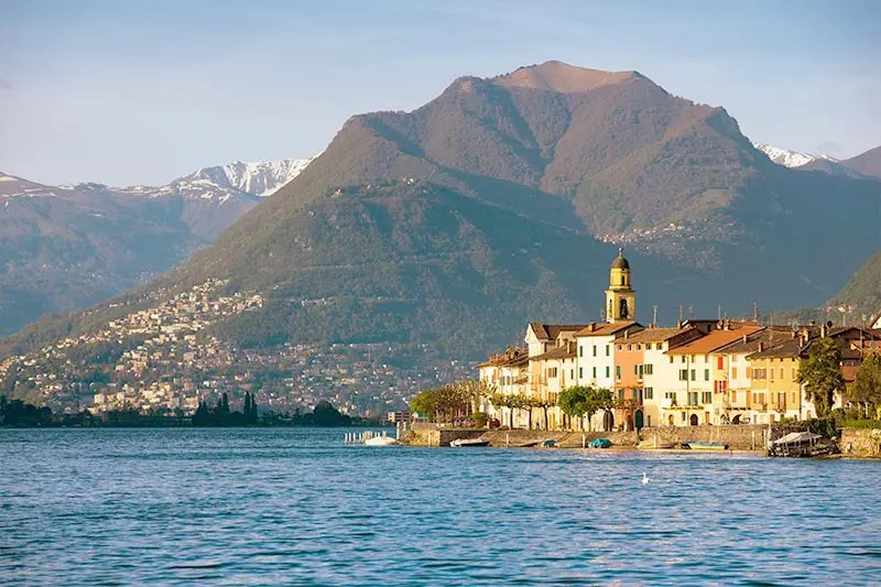 Lake Lugano is one of the best places to visit in Switzerland.