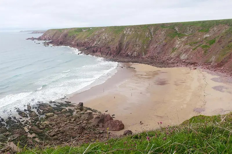 My experience hiking Bosherston to Dale on the Pembrokeshire Coast Path in Wales. Read practical tips for walking this part of the Wales Coast Path