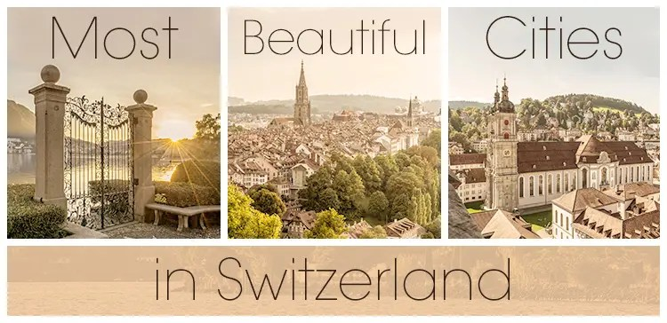 I share the most most beautiful places in Switzerland you cannot miss. I select the best cities in Switzerland to visit and the most scenic towns to stay. Image credit 1: swiss-image.ch/Jan Geerk, 2: swiss-image.ch/Markus Buehler, 3: swiss-image.ch/Andre Meier