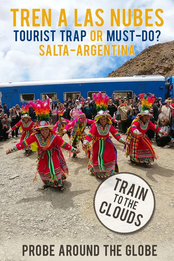 What is it like to ride the Train to the Clouds from Salta Argentina? Read my tips to arrange your trip on this high-altitude Tren a las Nubes.