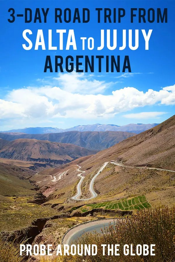 Off the beaten path travel guide to Quebrada de Humahuaca in Jujuy Argentina. Travel 3 days in Tilcara, Humahuaca, Purmamarca and Salinas Grandes Argentina