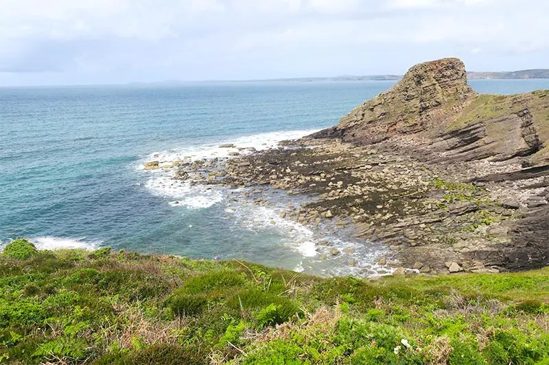 My experience hiking Broad Haven to Solva on the Pembrokeshire Coast Path in Wales. Read practical tips for walking this part of the Wales Coast Path