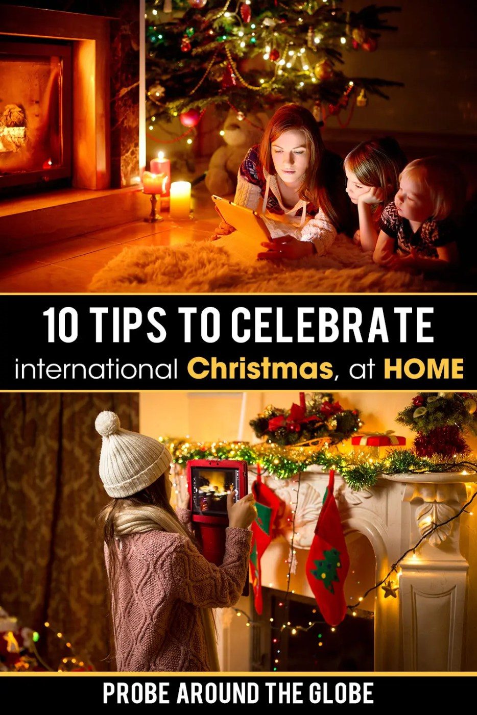 How to celebrate an international Christmas at home? As we can't travel abroad, read my 10 tips to connect for a global Christmas this year!