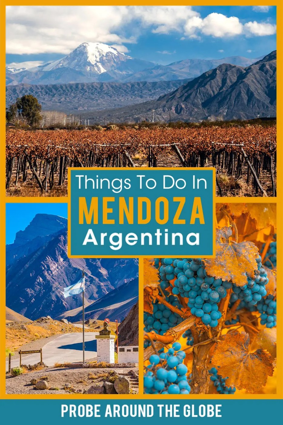 What are the best things to do in Mendoza Argentina, besides wine? Read my list of fun Mendoza activities that include nature, food & history