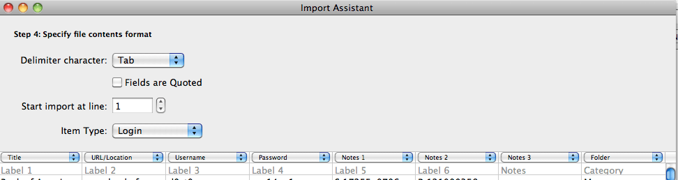 Import Assistant